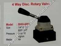 4 way disc rotary valve