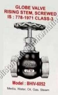 glove valve rising steam screwed