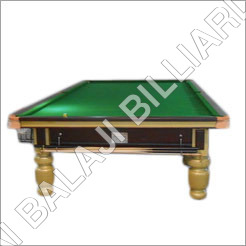 Antique Pool Billiards Table
