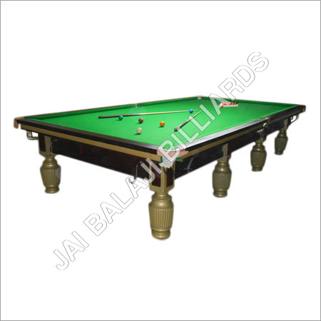 Solid Wood Pool Table