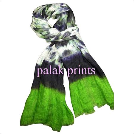Designer Linen Tie Dye Stoles