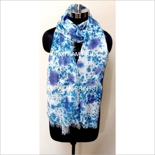 Stylish Hand Printed Voile Scarves