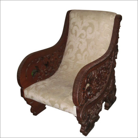 Solid Wood Sofa Chair