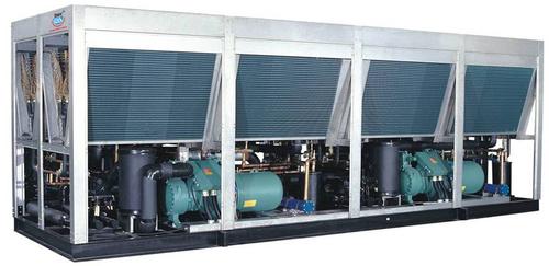 Multiple Compressor Air Cooled Screw Chiller