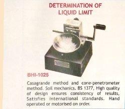 Determination of Liquid Limit