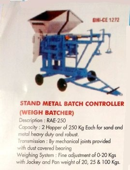 Stand Metal Batch Controller