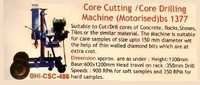 Core Cutter And Core Drilling