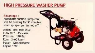 High Pressure Washer Pump