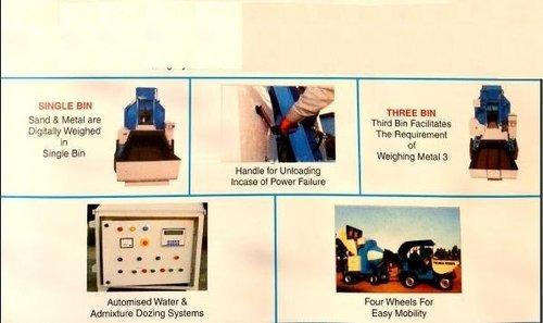 Inbuilt degital weight system load cell based