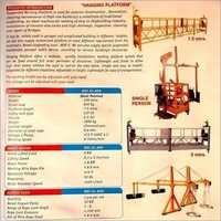 Hanging platform