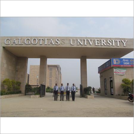 College Security Guard