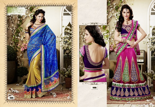 Designer Lehenga Choli & Saree