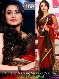Bollywood Chiffon Replica Saree