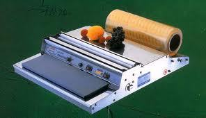 Manual Tray Wrapping Machine