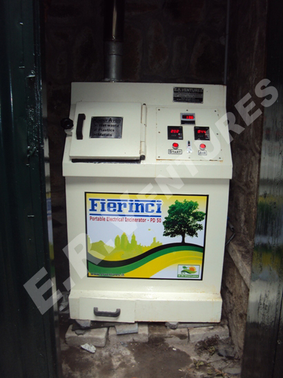 Used Napkin Burning Machine - Napkinci JUMBO