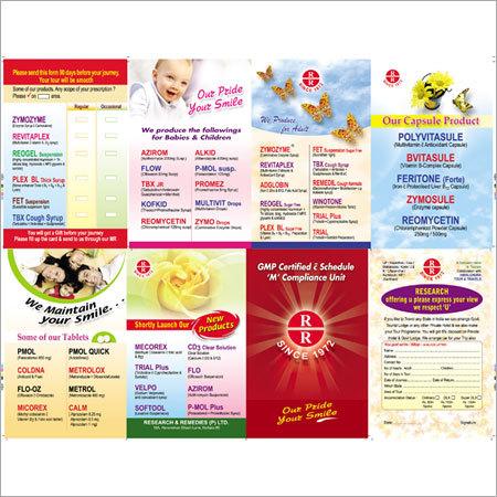Pharmaceuticals Brochures