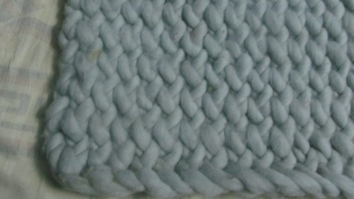 Hand Knitted Carpet