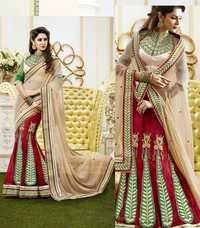 Designer Pleasing Lehenga Saree
