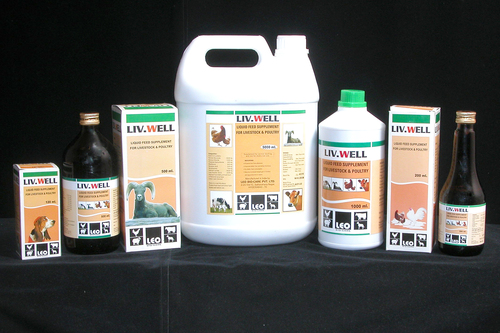 liquid feed supplement for livestock & poultry