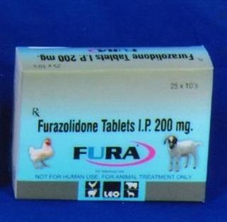 FURAZOLIDONE TABLETS
