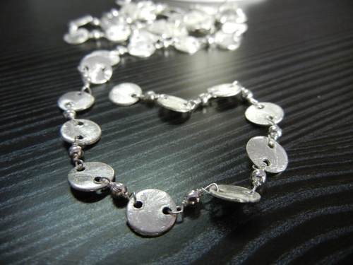 Silver Wire Rosary Chain Selling Per Meter