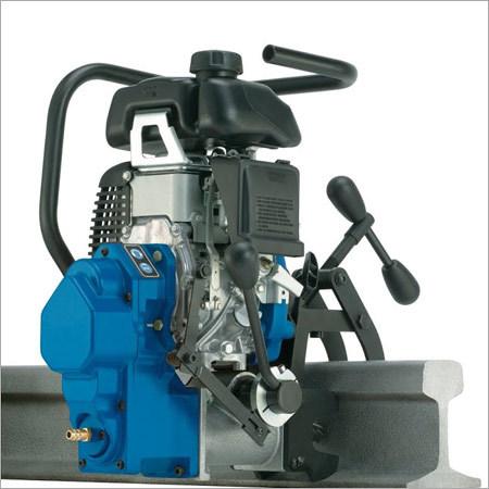Petrol Railway Drilling Machine