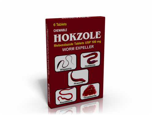 Chewable Mebendazole Tablets USP