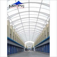 Polycarbonate Walkway Sheds Structure