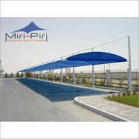 Tensile Fabric Walkway Structures