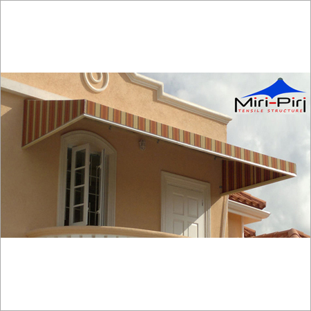 Entrance Metal Awnings