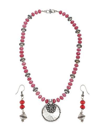 German Silver Ethnic Necklace