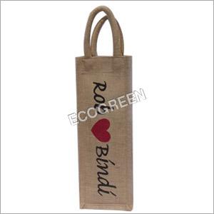 Designer Jute Bottle Bag