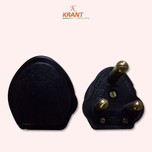 Khosla type 3 Pin Plug Top