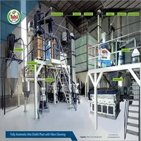 Fully Automatic Industrial Atta Chakki Plant With Vibro Cleaning