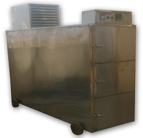 Stainless steel 3 body Mortuary Cabinet