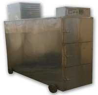 Stainless Steel Dead Body Mortuary Cabinet