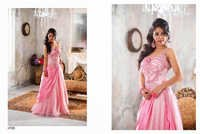 Pink Designer Evening Gown