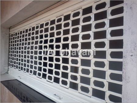 Industrial Grill Shutters