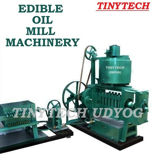 Edible Oil Mill Machinery