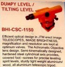Dumpy level & tilting level