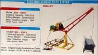 Electric single rope lifter