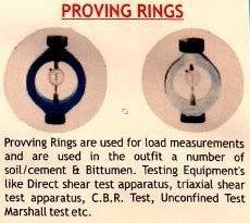 Proving rings