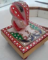 Peacock Chowki Ganesh Ji