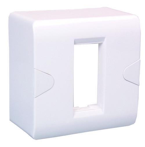 1 MODULE ENA SURFACE BOX