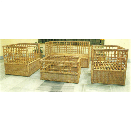 Cane Box Sofa Set