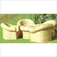 Wicker Garden Chair Set
