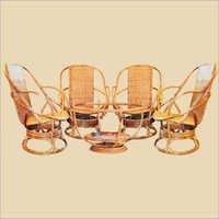 Cane Chair Set