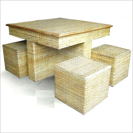 Wicker Table Set