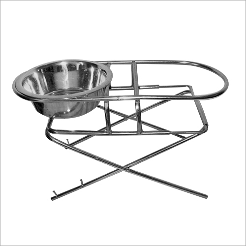 Adjustable Dog Bowl Stand