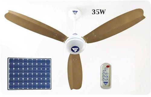 Solar Ceiling Fan (1st Time in India)